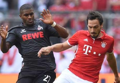 Bayern Munich held by Koln