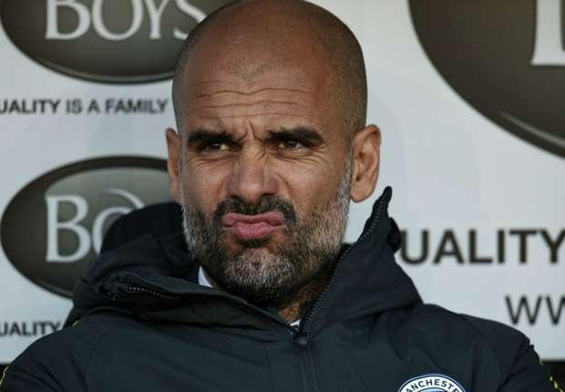 Guardiola kesulitan di periode awalnya bersama City.