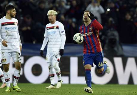 Bayer held by late CSKA penalty