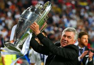 <strong>Carlo Ancelotti - Milan (2003, 2007) - Real Madrid (2014)</strong>