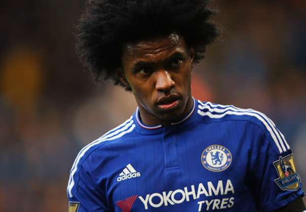 'Chelsea praying for Willian after mother's death'