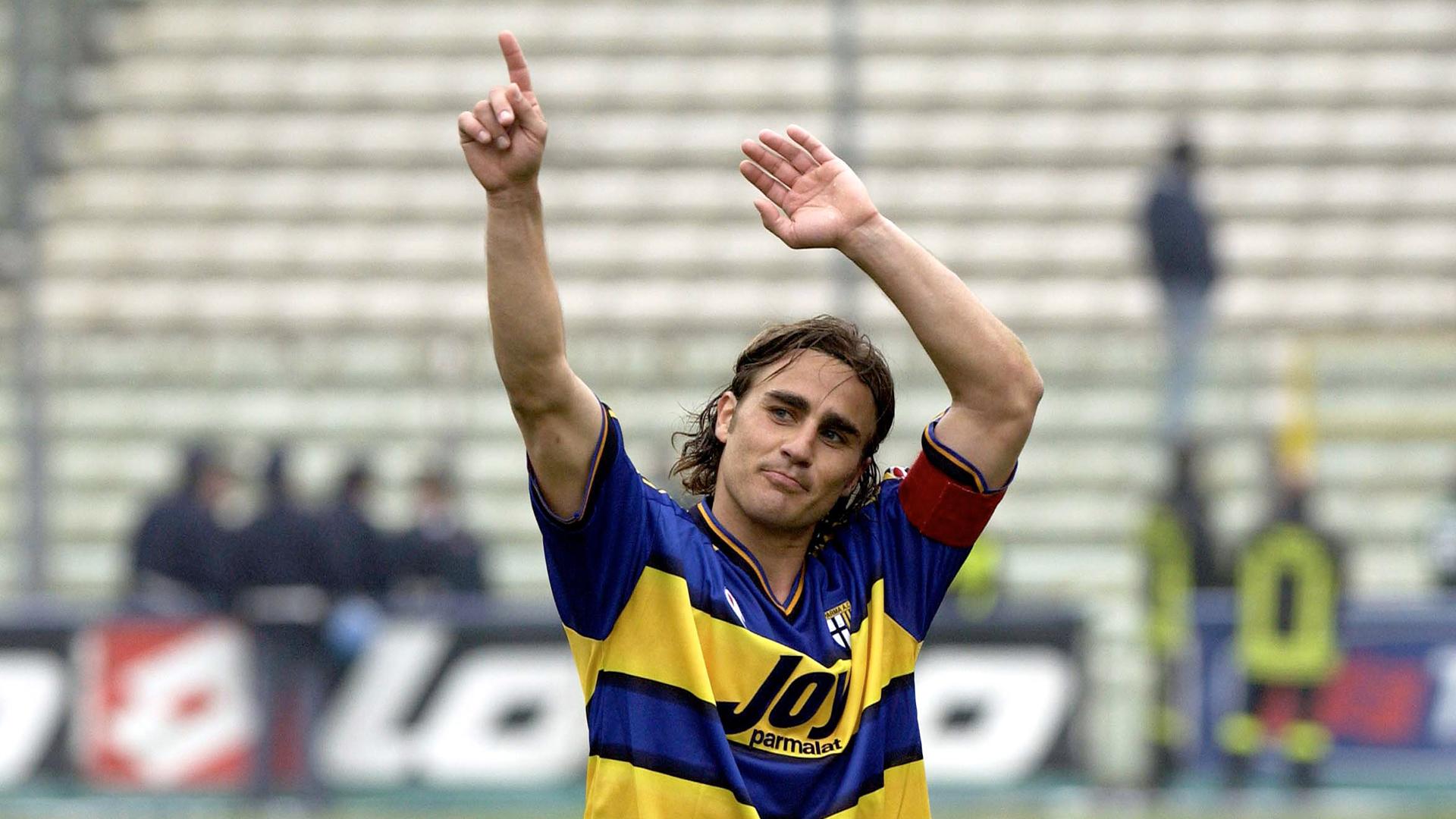 Fabio Cannavaro Parma Goal