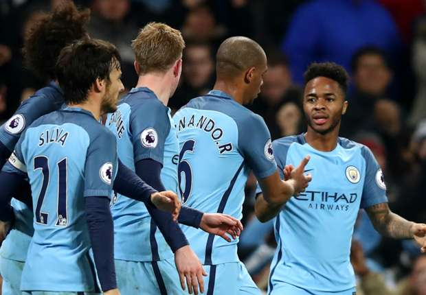 Manchester City 2-1 Arsenal: Guardiola's men come back to leapfrog Gunners
