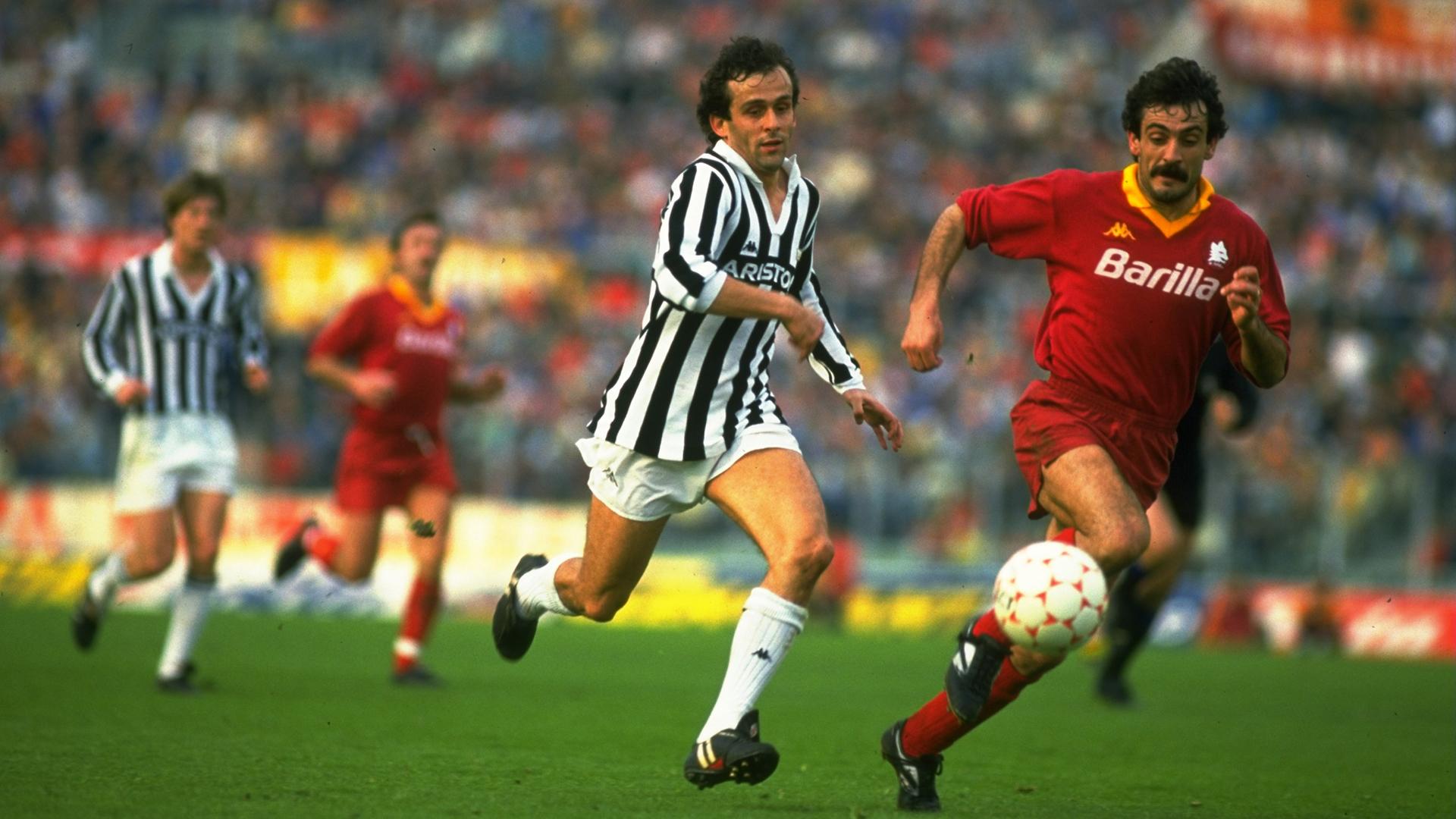 Michel Platini Juventus Goal