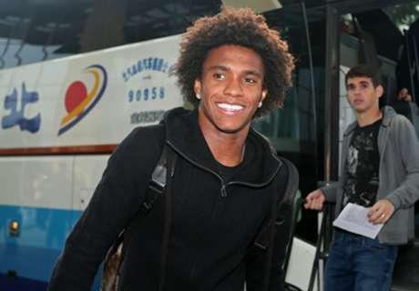 EXCLU - Willian évoque Messi, Ronaldo, Neymar et son idole de jeunesse