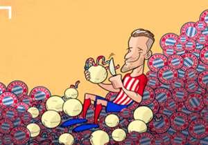 28 ABR | Saúl despelleja al Bayern tras su golazo en el Calderón.