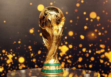 ► O tour da Copa do Mundo