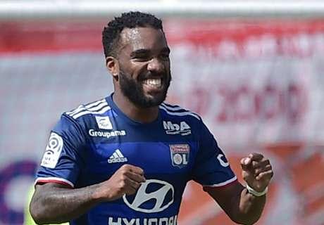 Lacazette hints at Lyon stay