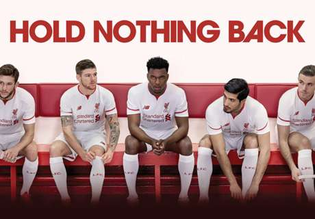 The new kits of Europe's top sides