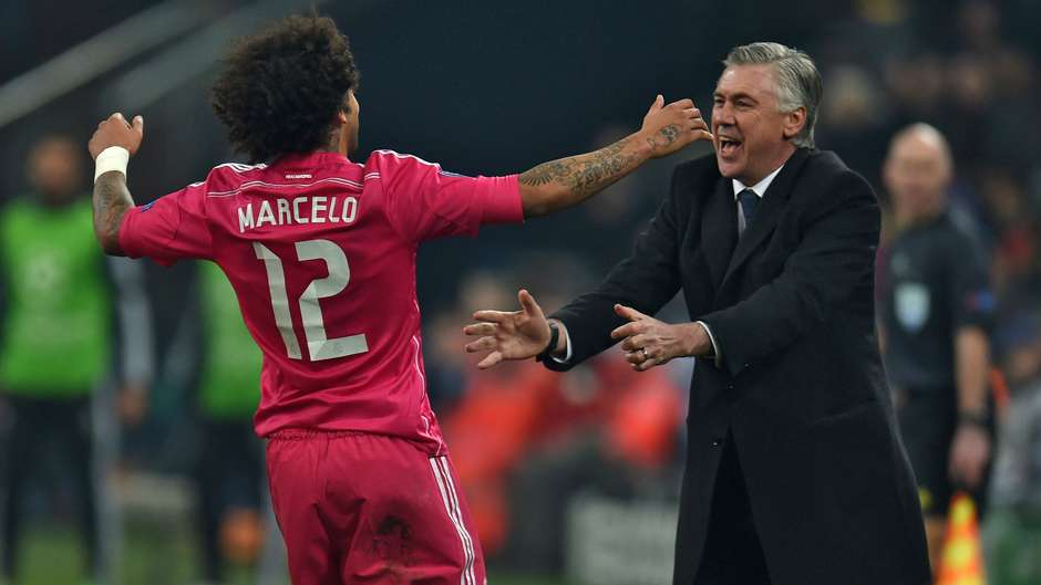 Marcelo in The Real World Marcelo Carlo Ancelotti Real