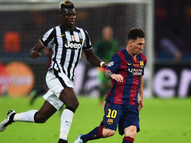 Image result for pogba messi