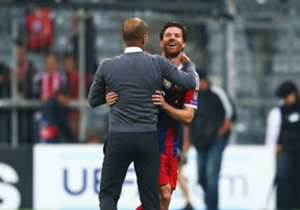 Xabi Alonso, Pep Guardiola, Bayern Munich