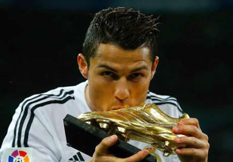 Goldener Schuh: Messi holt auf