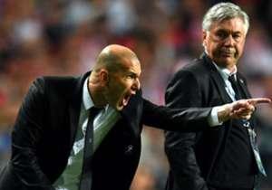 Setelah dua tahun lalu menjadi asisten Carlo Ancelotti saat Real Madrid merengkuh gelar juara Liga Champions kesepuluh, musim ini Zinedine Zidane mempersembahkan La Undecima untuk Los Blancos sebagai <em>entrenador</em> kepala. Inilah daftar para pelat...