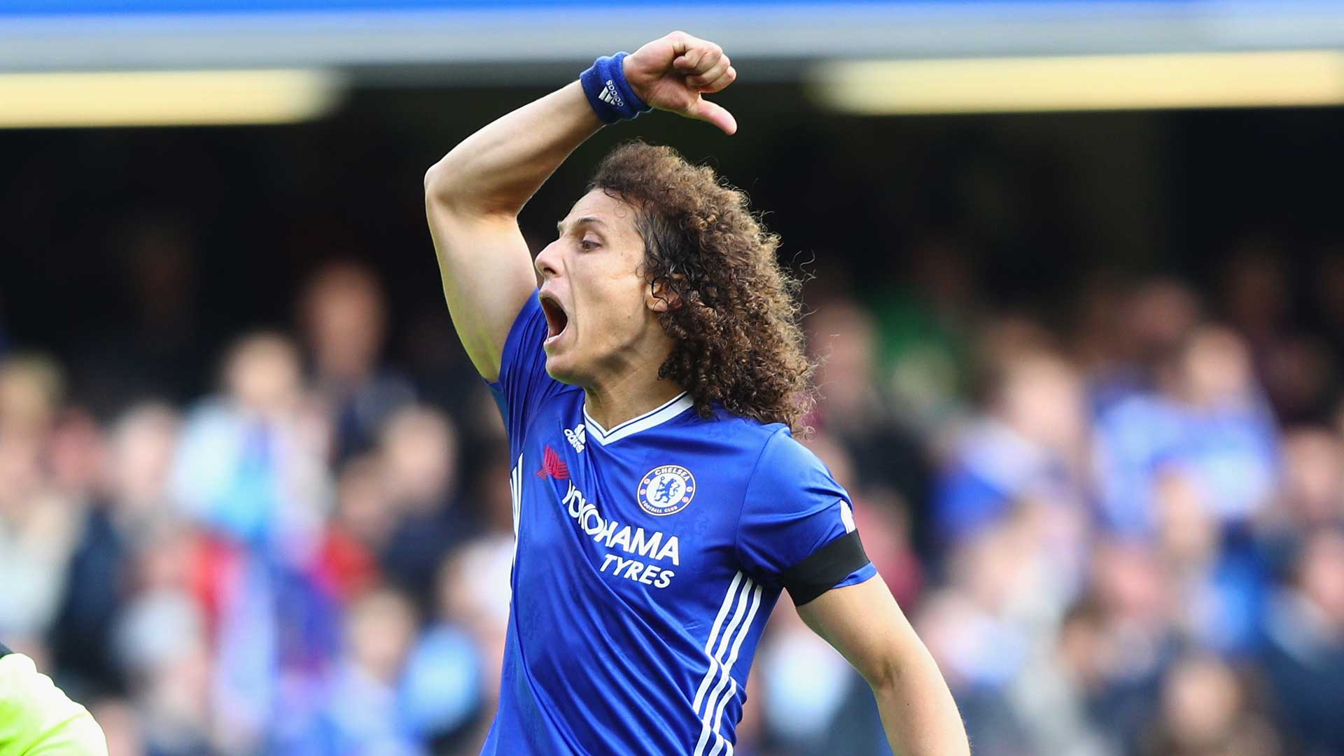 David Luiz was signed with my blessing, insists Conte