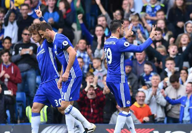 Diego Costa involved in 50 Premier League goals for Chelsea