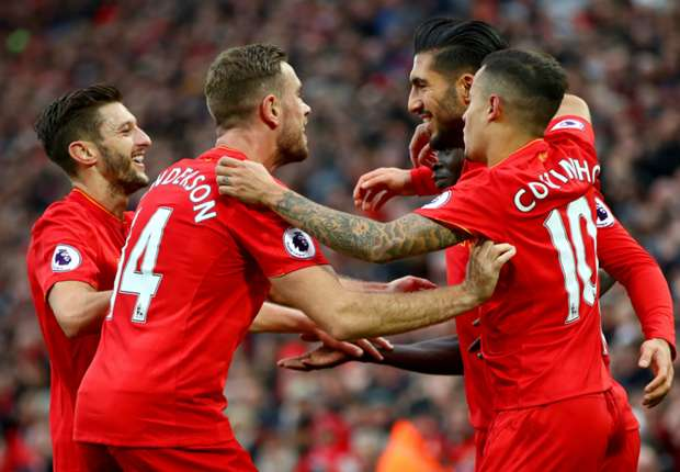 Liverpool 6-1 Watford: Devastating Reds stun Hornets to go top