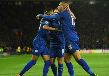 Mahrez strike earns third Leicester victory