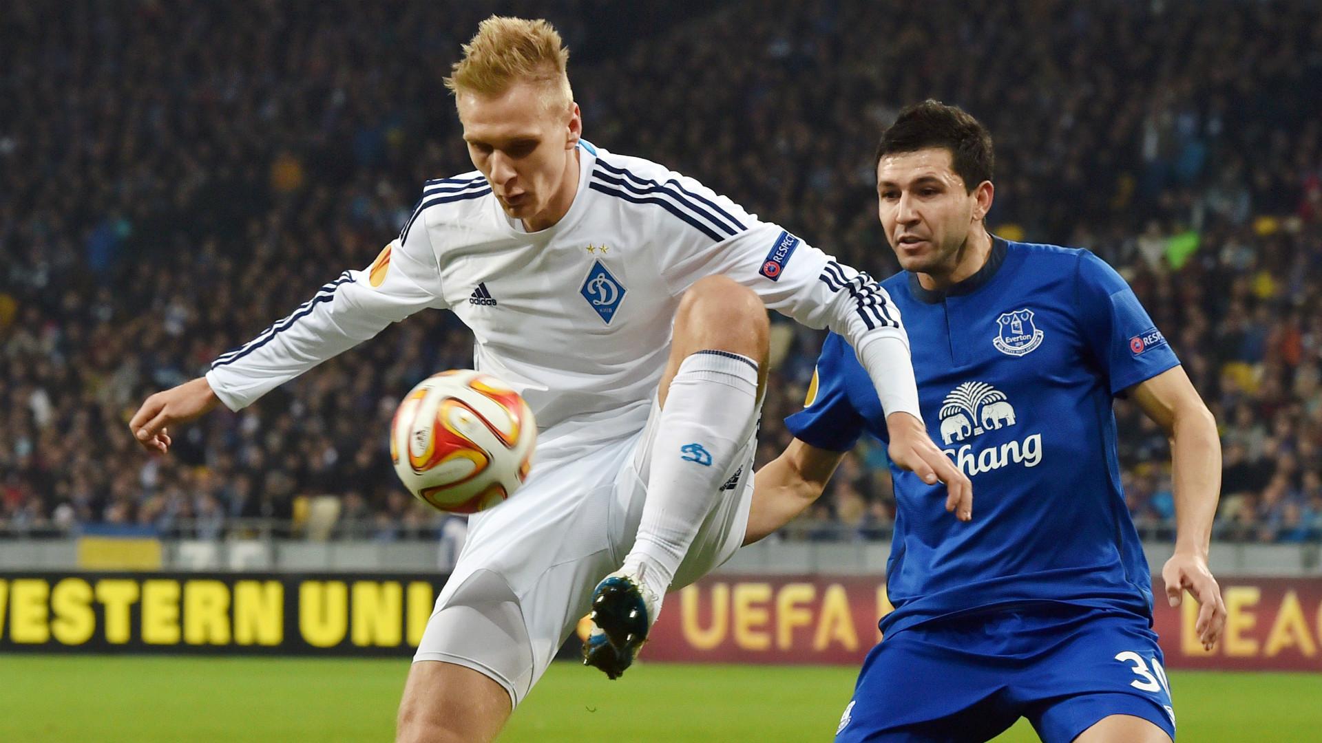 Andriy Yarmolenko Dynamo Kiev Europa League Goal
