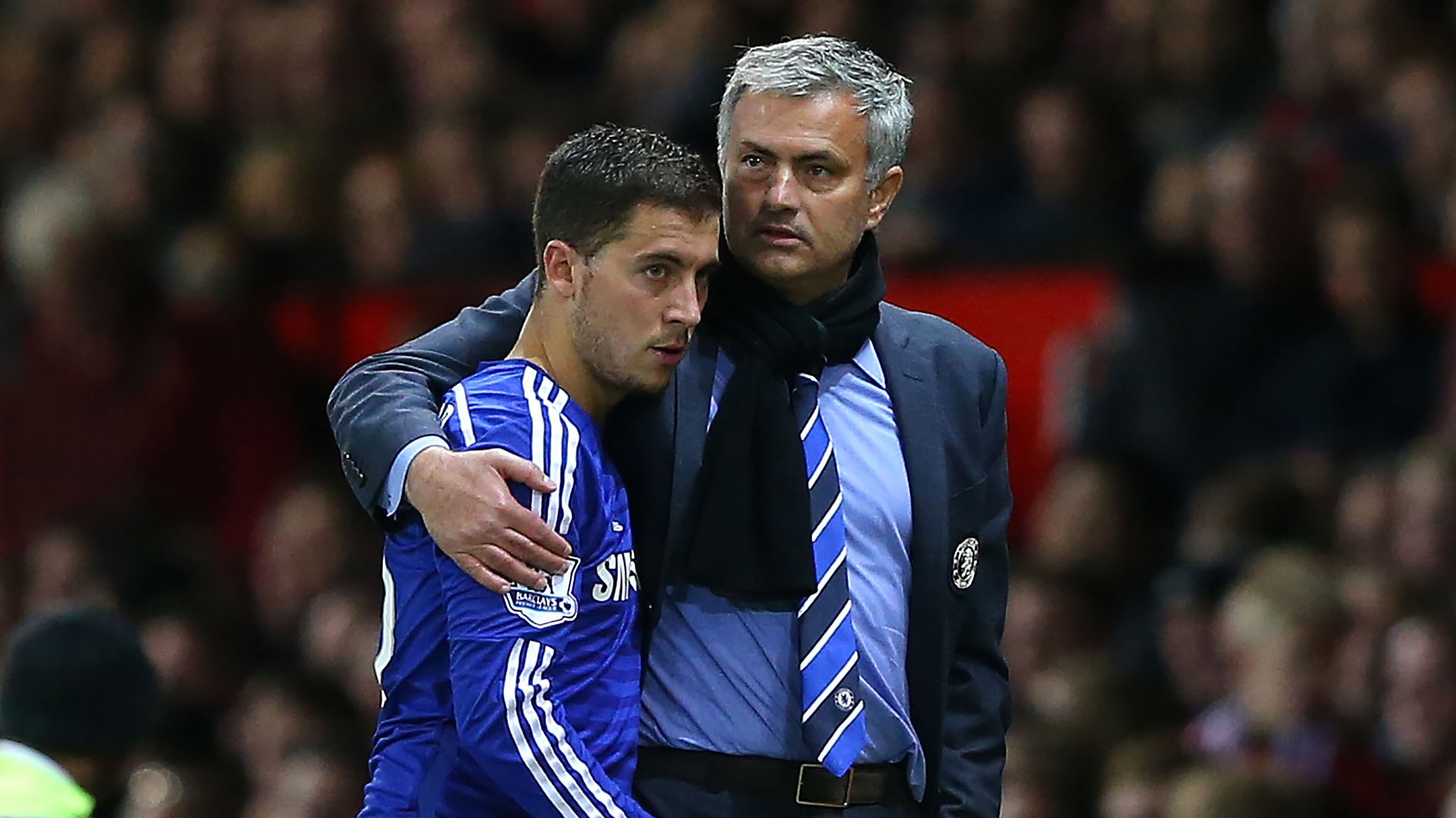 Hazard reveals major difference between Conte and Mourinho