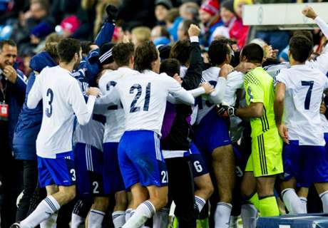 Chaos in Norway as San Marino score