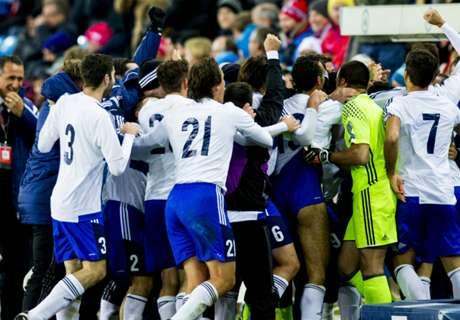 Caos tras recibir un gol de San Marino