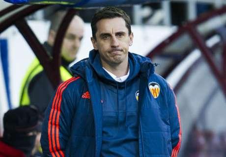 """Neville : """"Je ne pense pas à la descente"""""""