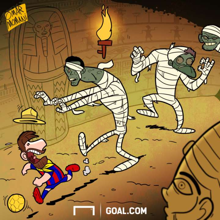 Lionel Messi Egypt Cartoon