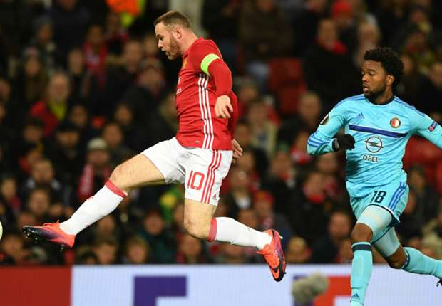 Rooney becomes Manchester United's all-time top scorer in Europe