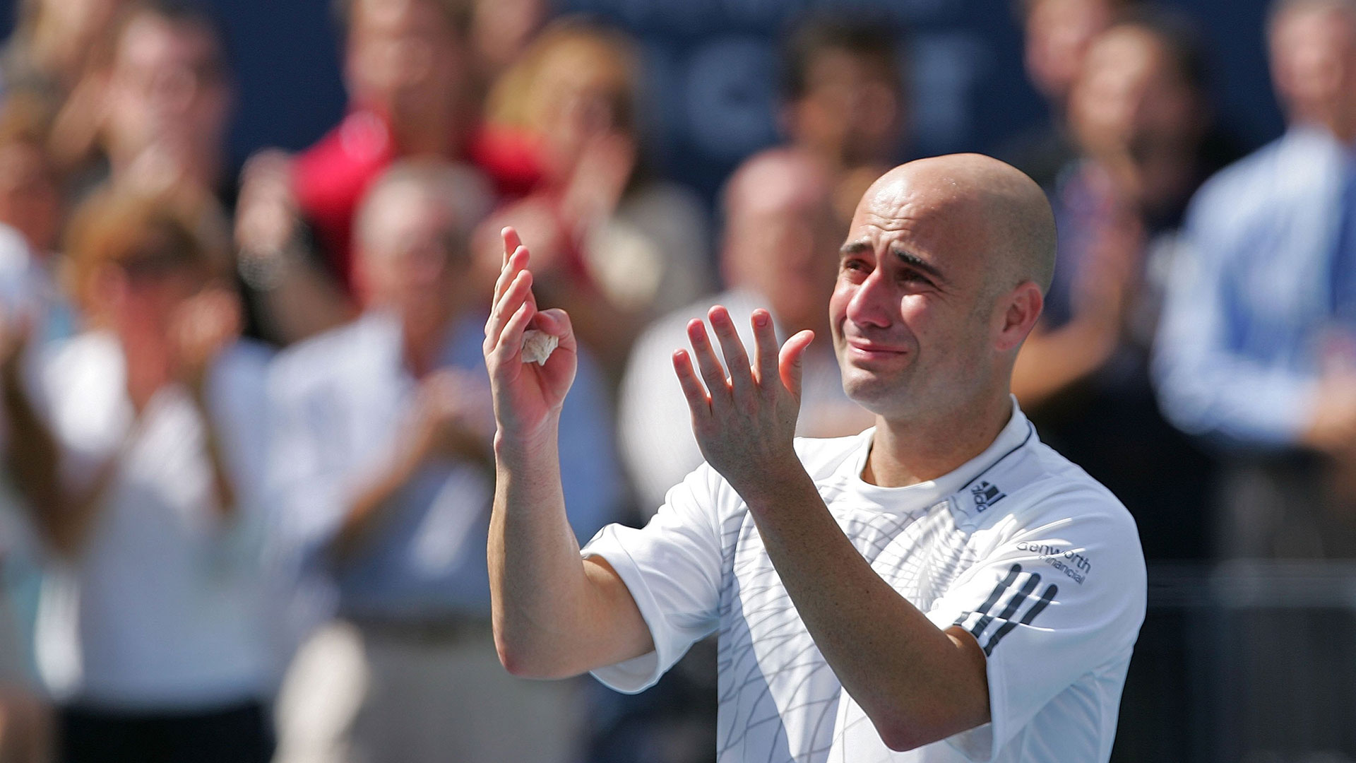 Andre Agassi 2006 US Open Goal