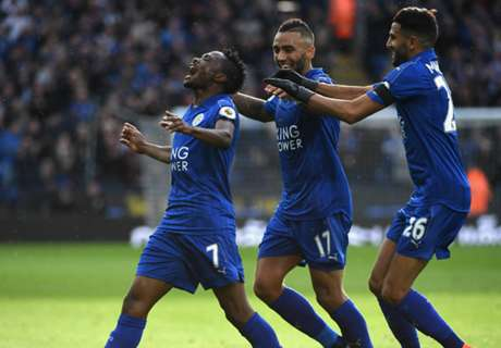 Leicester Sikat Crystal Palace