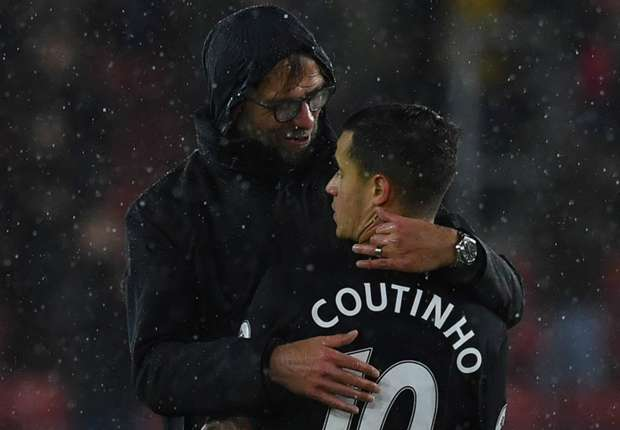 Coutinho is good, but he doesn't decide games by himself - Klopp