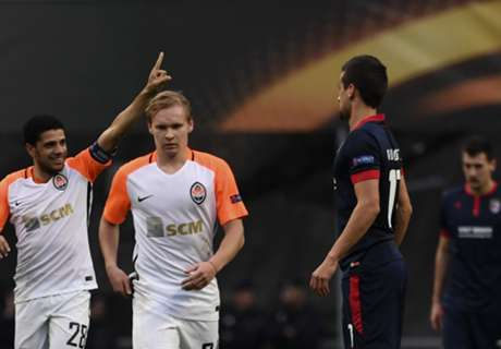 Shakhtar progress as Group H winners
