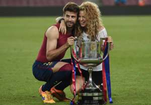 Goal takes a look at some of the famous faces who support or have supported the two sides in Saturday's Champions League final. Starting with... <br /><br /> Shakira | Singer | Barcelona