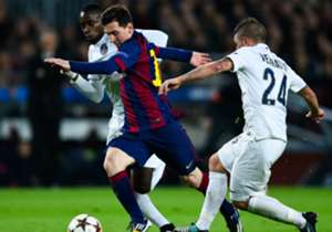10/12/2014 BARCELONA 3-1 PSG | Messi, Suárez, Neymar