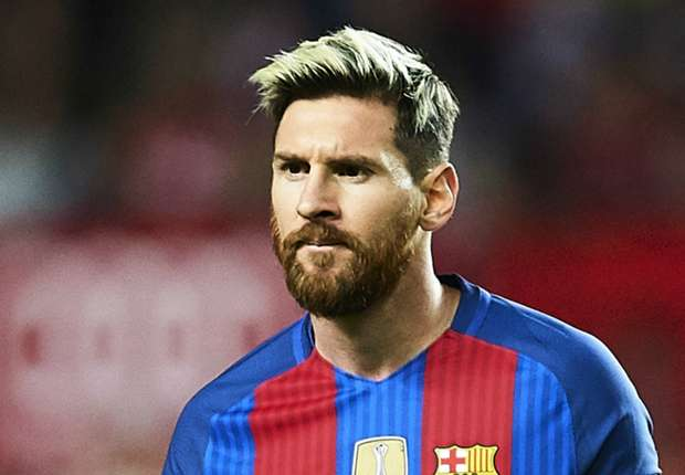 Image result for Lionel Messi extends contract with Barcelona