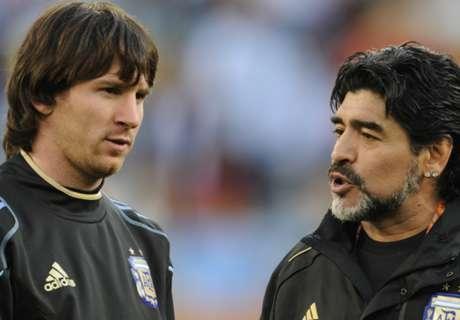 'Don't compare Messi & Maradona'
