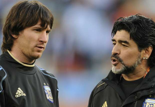 Messi doesn't need a World Cup to match Maradona - Zanetti