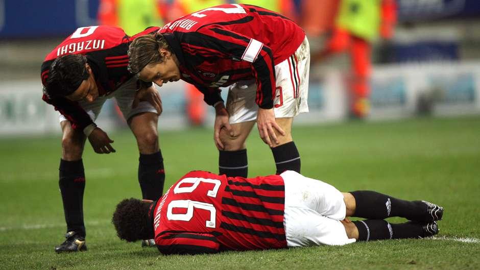 2008 Ronaldo AC Milan Injury