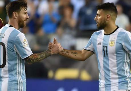 Aguero: Messi is best in the world