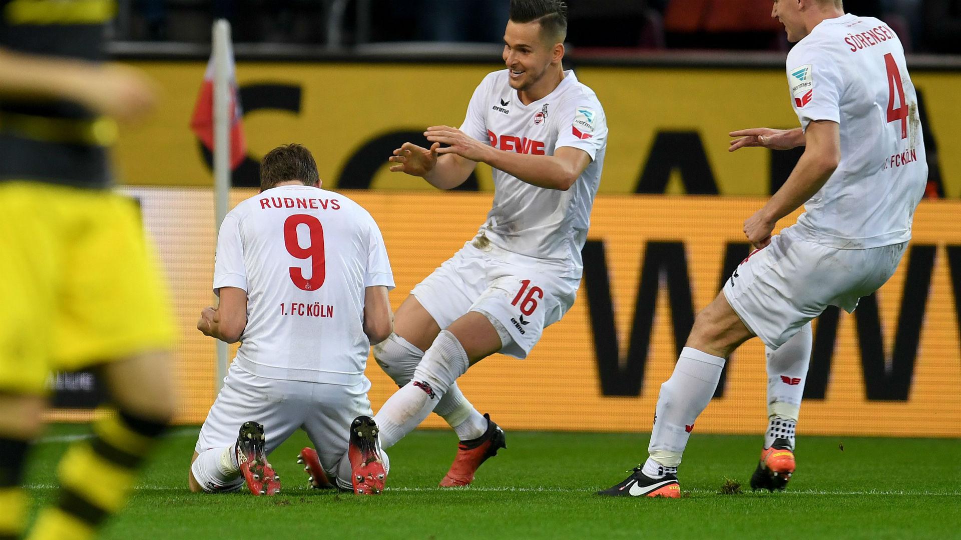 Rudnevs Cologne Borussia Dortmund