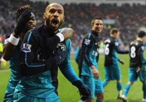 Henry persembahkan gol terakhirnya untuk Arsenal tepat empat tahun silam.