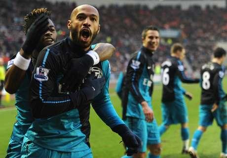 Gol Pamungkas Thierry Henry Untuk Arsenal