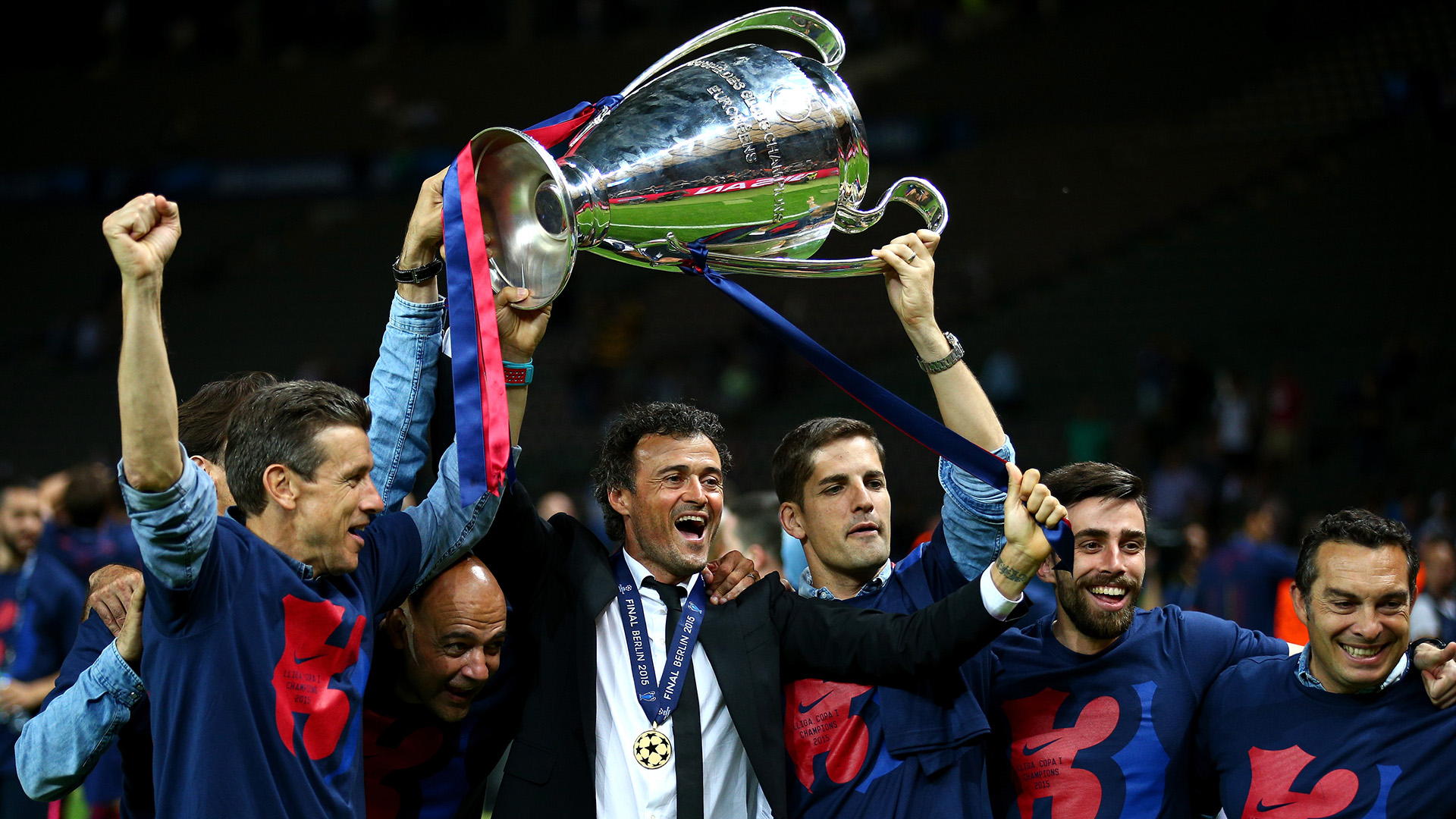 Image result for luis enrique barcelona champions