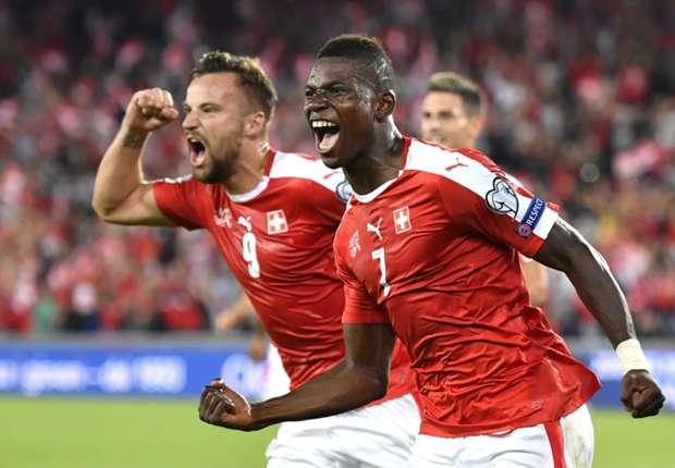 Switzerland 2-0 Portugal: Euro 2016 winners slump to opening defeat