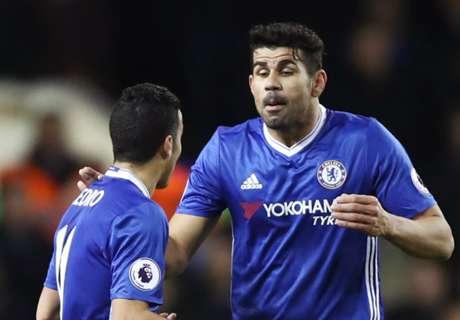 Pedro: Perfect Costa happy at Chelsea