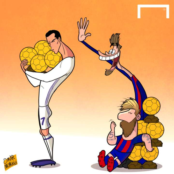 Ronaldo wins 4th Ballon d'Or