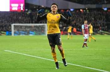 WATCH: Alexis Sanchez burns West Ham for hat trick