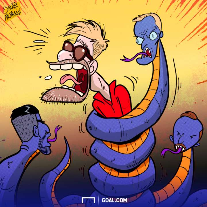 Leicester's snakes squeeze Klopp