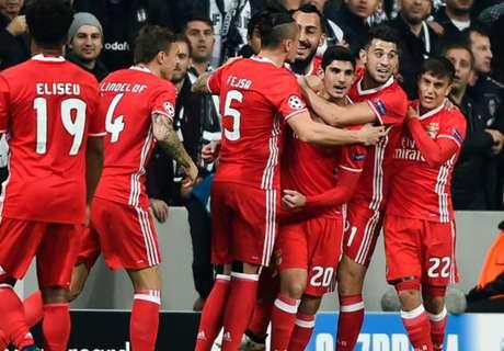 El camino del Benfica en la Champions
